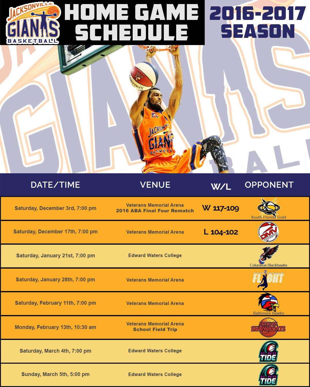 Jacksonville-Giants-2017-Schedule
