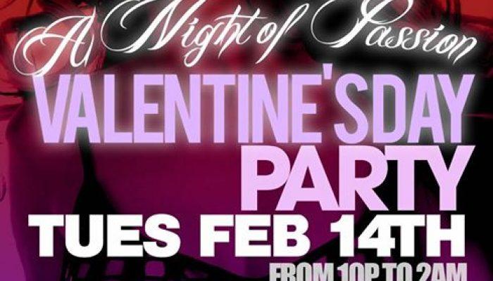 Valentines Day 2017: A Night Of Passion @JaxLanding   Tue Feb 14