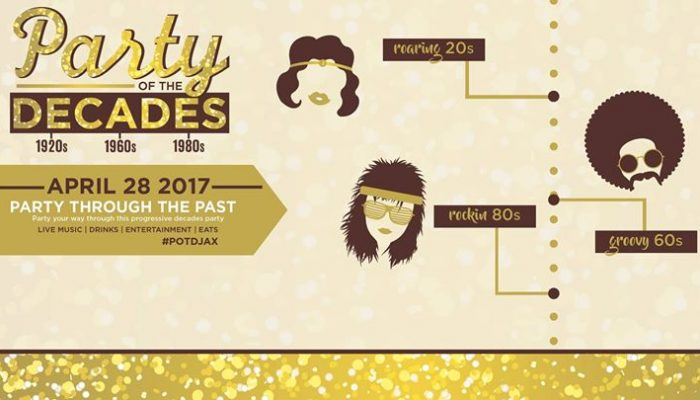 Party of the Decades #POTDJacksonville | Fri Apr 28