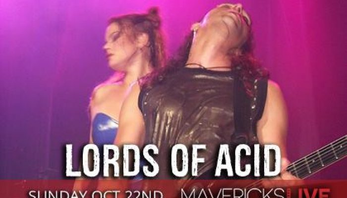Jacksonville Halloween 2017: Lords of Acid at Mavericks