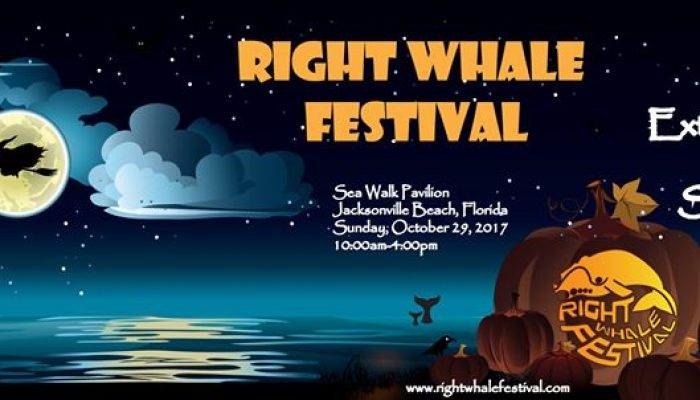 Halloween 2017: Right Whale Festival October 29.