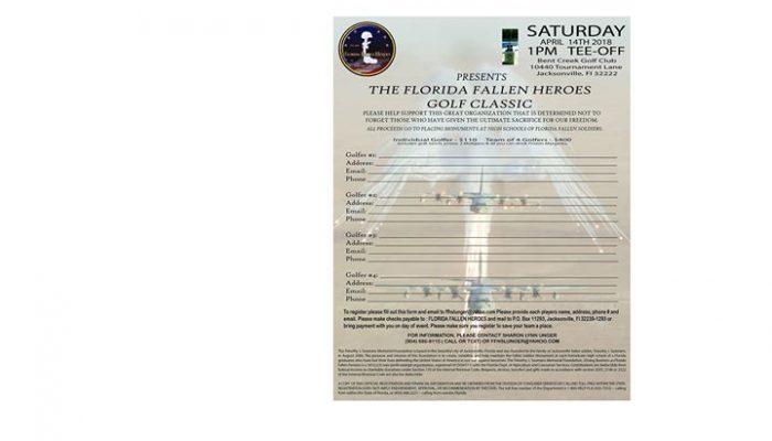 Florida Fallen Heroes Golf Classic | Sat Apr 14