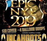 Jacksonville New Years Eve 2019: InCahoots Blow out!